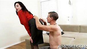 Mature pussy needs sexy banging