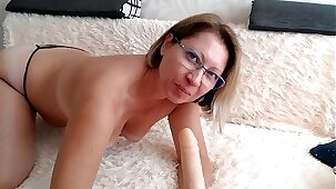 Mom want to suck your cock!