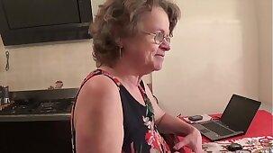 Old Slut Italian Granny