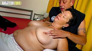 AMATEUR EURO - Dirty German Granny Karola Loves Hard Sex