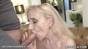Nanney re-living her Fantasy Young years Fucking a Stud