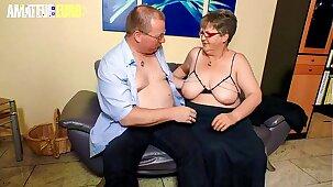 AMATEUR EURO -  German Granny Birgit W. Wants To Feel Women