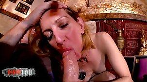 Hot french Milf Louise du Lac hard anal fucking