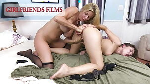 GirlfriendsFilms - Alexis Fawx Fingers Young Teen Pussy
