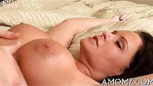 She loves cock in face hole and twat