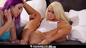 MILF Jelena Jensen Examines Tiny Step Daughter Elsa Jean