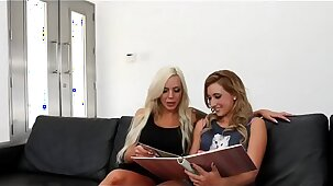 Hot Lesbian Family Threesome - Part2 at LesbianCamTv.com