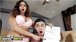 BANGBROS - MILF Ariella Ferrera's Step Son Juan El Caballo Loco Is In Trouble!