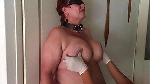 Master Sadox filmed his dutch slavegirl with master M